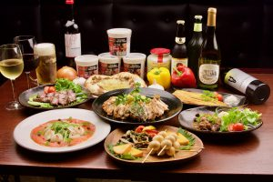 燻製料理を堪能する◆9品料理◆≪1泊2食付・飲み放題付プラン≫