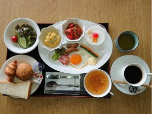 ■新型コロナウィルスの感染拡大防止における朝食内容の変更について