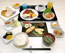 朝食バイキングの料金改定について