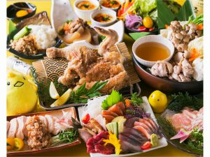 GoToトラベル対象♪【東京発歓迎プラン】鶏の創作料理『あや鶏』ご夕食(飲み放題付)プラン【朝食ビュッフェ付】